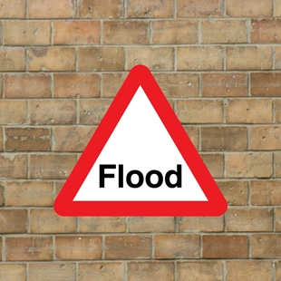Picture of Flood Warning Sign