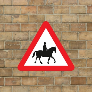 Picture of Horse Warning Sign
