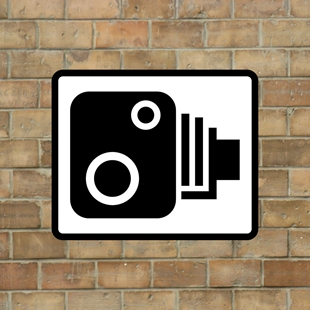 Picture of UK SPEED CAMERA SIGN