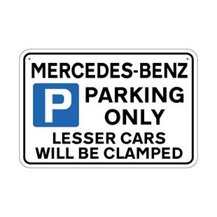 Picture of MERCEDES-BENZ Joke Parking sign