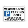 Picture of MERCEDES-BENZ Joke Parking sign