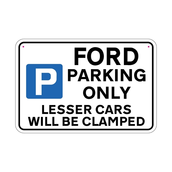 Picture of FORD Joke Parking sign