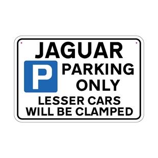 Picture of JAGUAR Joke Parking sign