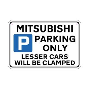 Picture of MITSUBISHI Joke Parking sign
