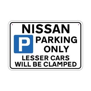 Picture of NISSAN Joke Parking sign