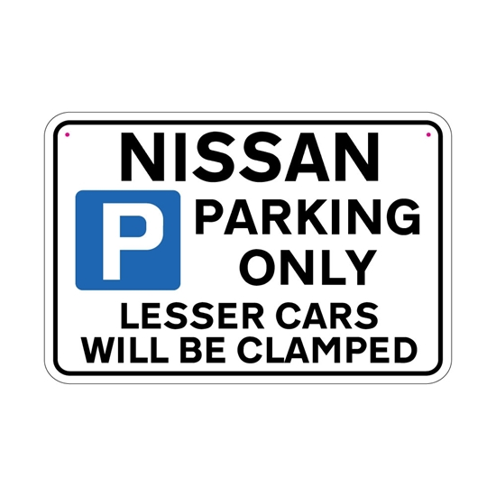 Picture of NISSAN Joke Parking sign
