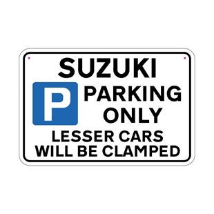 Picture of SUZUKI Joke Parking sign