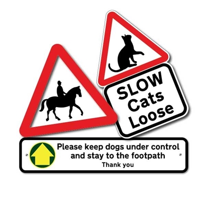 Picture for category Animal Safety Sign