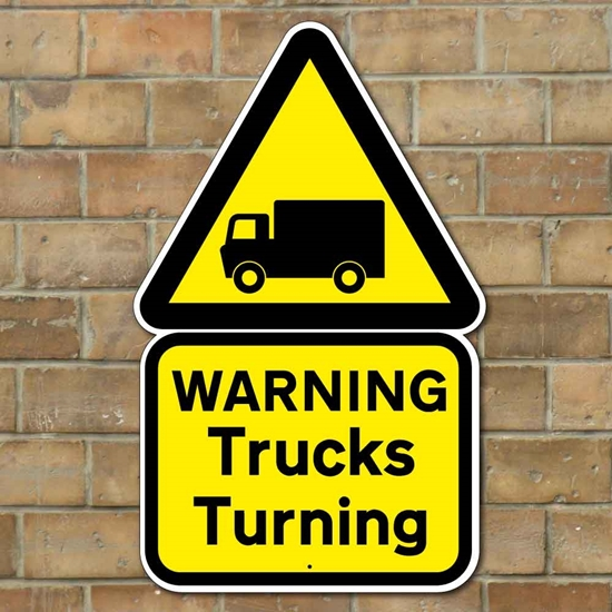 Picture of Truck Turning Sign