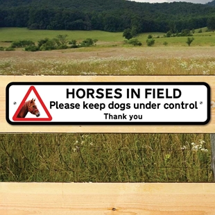 Picture of HORSES - DOG CONTROL