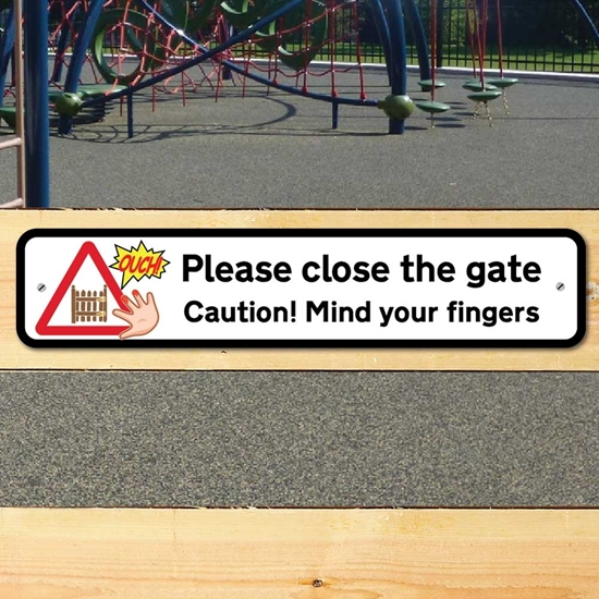 Picture of GATE FINGERS SIGN