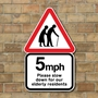 Picture of Personalised Elderly People Sign