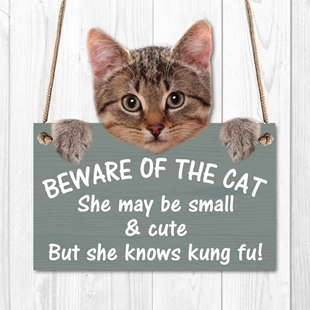 Picture of Beware Of The Cat