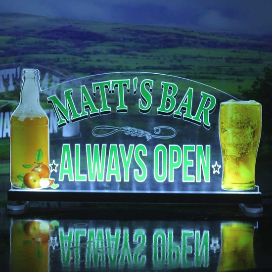 Picture of Cider Light up Bar Sign