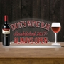 Picture of Wine Bar Edge Lit Sign