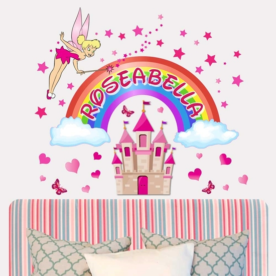Picture of PRINCESS CASTLE STICKER