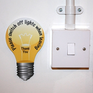 Picture of LIGHT BULB SIGN