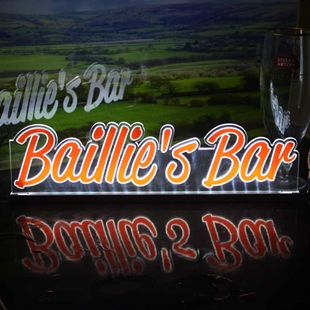 Picture of Personalised Neon Effect Bar Sign