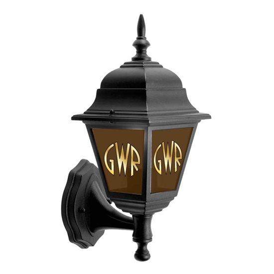 Picture of GWR Railway Lamp outdoor light