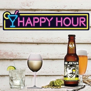 Picture of HAPPY HOUR Bar Sign