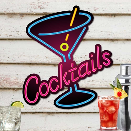 Picture of COCKTAIL BAR SIGN
