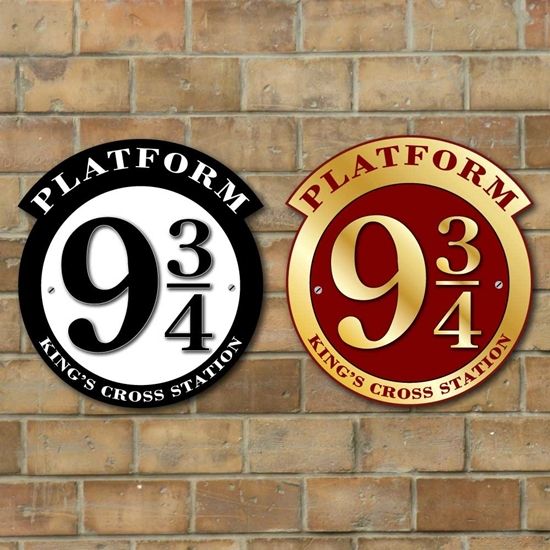 Picture of Platform 9 3/4 Sign