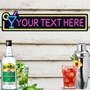Picture of Personalised Cocktail Bar Sign