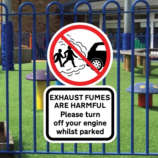 Picture of TURN OFF YOUR ENGINE Sign