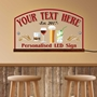 Picture of Light up wall mounted LED Bar Sign