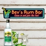 Picture of Personalised Gin Bar Sign - Neon Effect
