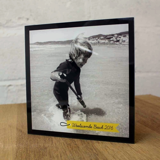 Picture of Personalised Acrylic Photo Picture Frame