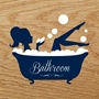 Picture of Acrylic Bathroom Door Sign