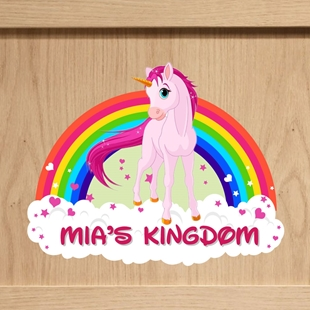 Picture of Unicorn Bedroom Door Sign