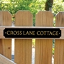 Picture of Personalised Gate Sign - Classic Style