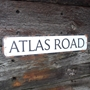 Picture of Old Rusty Effect Traditional Street Road Sign