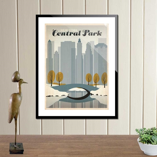 Picture of Central Park Framed Picture