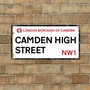 Picture of London Street Sign - Camden
