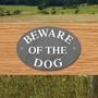 Picture of Beware of The Dog Sign