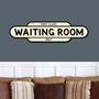 Picture of Vintage Style WAITING ROOM Sign