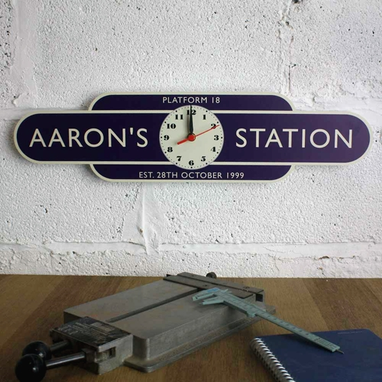 Picture of Classic Railway Station Totem Clock