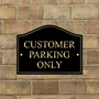 Picture of Customer Car Park Sign
