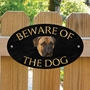 Picture of Bullmastiff Beware of The Dog Sign