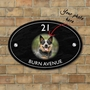 Picture of Oval Personalised Photo House Sign