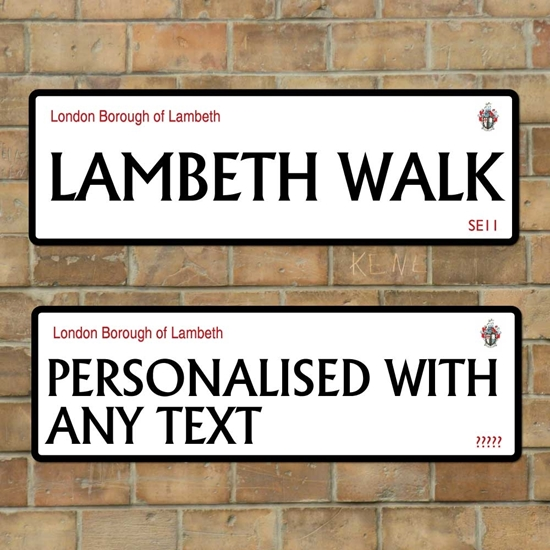 Picture of London Borough of Lambeth sign
