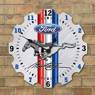Picture of Garage Clock, Ford Mustang