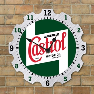 Picture of Garage Clock, Castrol