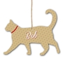 Picture of Personalised Cat Name Plaque