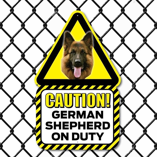 Picture of German Shepherd Dog Sign