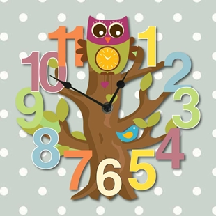 Picture of Tree Wall Clock