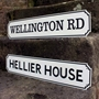 Picture of  Vintage Street Road Sign, Metal Composite fully weatherproof